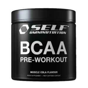 BCAA Preworkout Self Omninutrition - 300 g. Tropical flavor